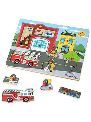 Melissa & Doug Around The Fire Puzzle