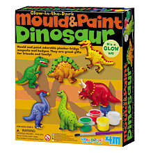 Buy Mould & Paint Glow In The Dark Dinosaur Kit Online at johnlewis.com