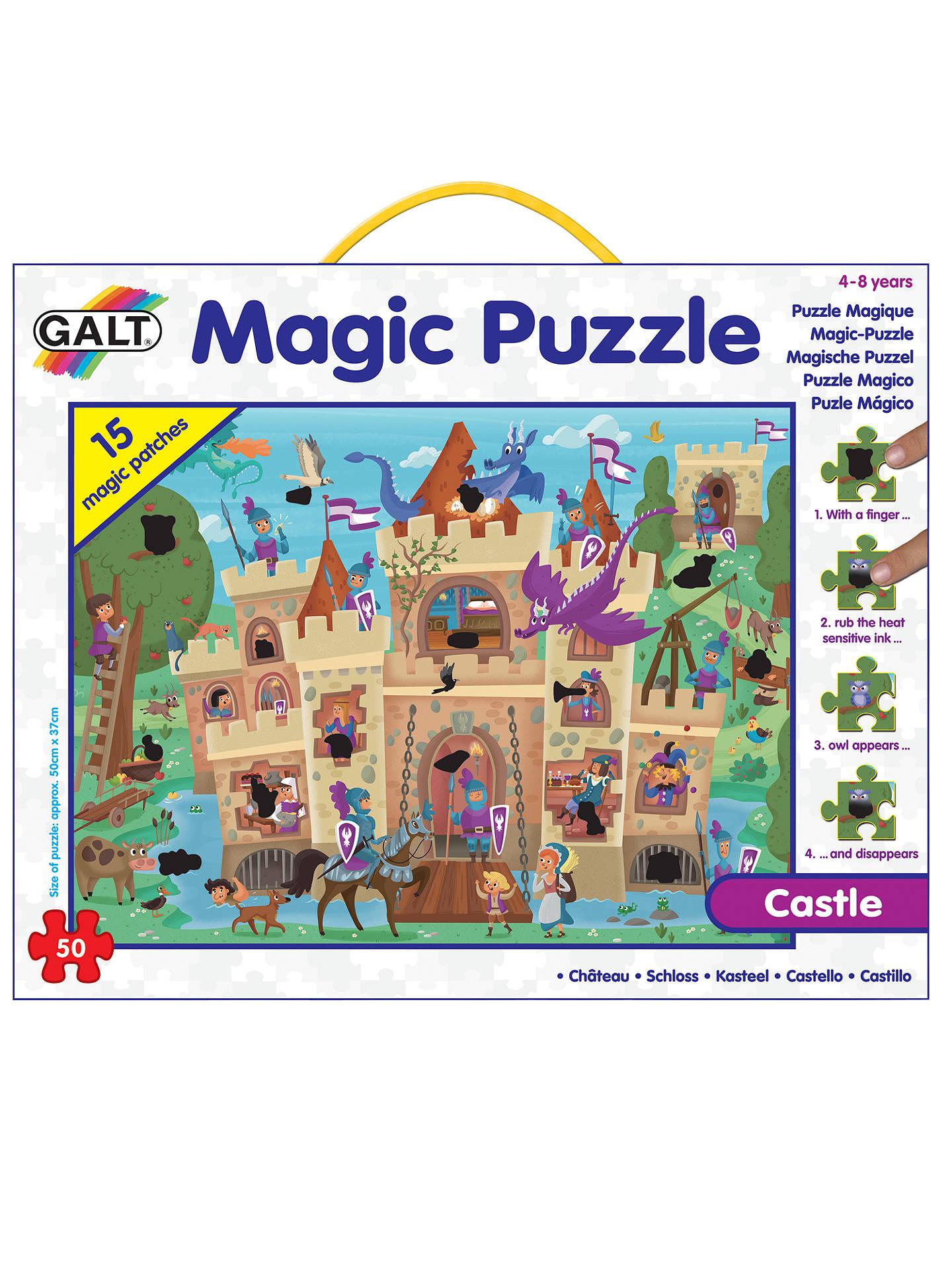 galt castle magic jigsaw puzzle 50 pieces at john lewis partners