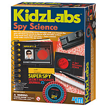 Buy Kidz Labz Spy Science Kit Online at johnlewis.com