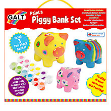 Buy Galt Paint a Piggy Bank Kit Online at johnlewis.com