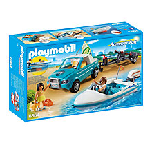 Buy Playmobil Family Fun Surfer Pickup with Speedboat Online at johnlewis.com