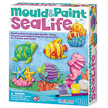 Buy Mould & Paint Sea Life Kit Online at johnlewis.com