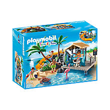 Buy Playmobil Family Fun Island Juice Bar Online at johnlewis.com