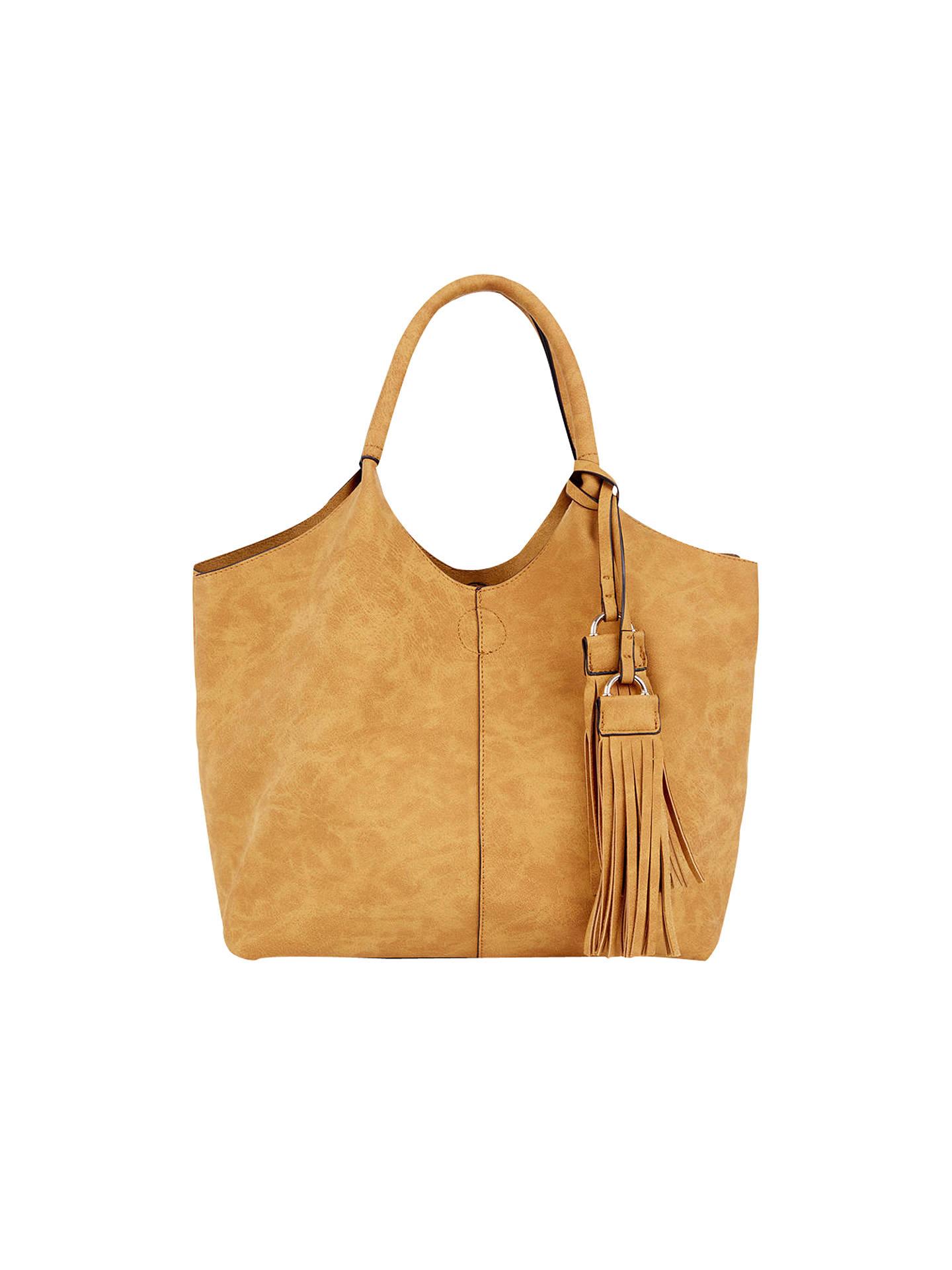 47581334d769 Buy Oasis Maggie Tote Bag, Ochre Online at johnlewis.com ...