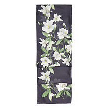 Buy Hobbs Magnolia Scarf, Navy/Multi Online at johnlewis.com