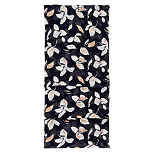 Buy Hobbs Abstract Floral Scarf, Navy Online at johnlewis.com
