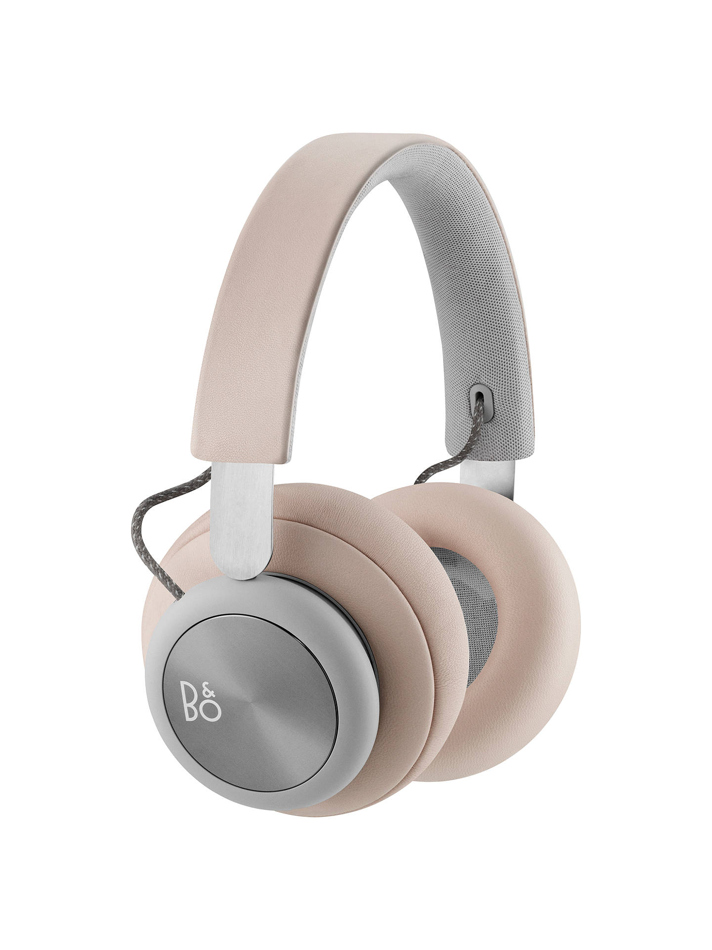 BuyBang & Olufsen Beoplay H4 Wireless Bluetooth Over-Ear Headphones, Nude Online at johnlewis ...