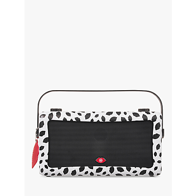Image of VQ Hepburn Mk II DAB+/FM Bluetooth Digital Radio, Lulu Guinness Design, Black Lips