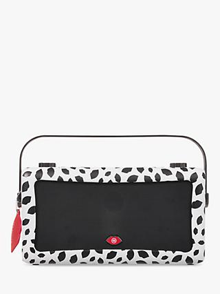 VQ Hepburn Mk II DAB+/FM Bluetooth Digital Radio, Lulu Guinness Design, Black Lips