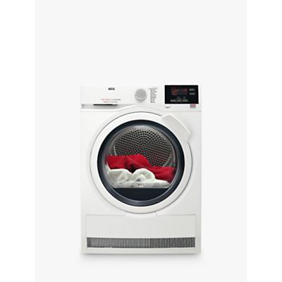 AEG T6DBG721N 6000 Series Condenser Tumble Dryer, 7kg load, B Energy Rating, White