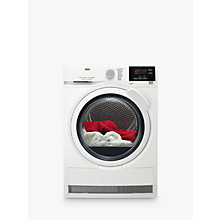 Buy AEG T6DBG721N 6000 Series Condenser Tumble Dryer, 7kg load, B Energy Rating, White Online at johnlewis.com