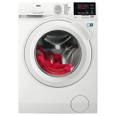 Image of AEG L6FBG741R Freestanding Washing Machine, 7kg load, A+++ Energy Rating, 1400rpm Spin, White