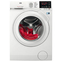Buy AEG L6FBG741R Freestanding Washing Machine, 7kg load, A+++ Energy Rating, 1400rpm Spin, White Online at johnlewis.com