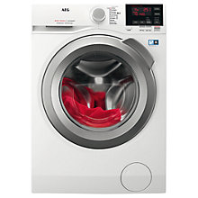 Buy AEG L6FBG142R Freestanding Washing Machine, 10kg load, A+++ Energy Rating, 1400 rpm, White Online at johnlewis.com