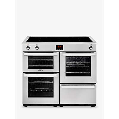 Image of Belling Cookcentre 100EI Electric Range Cooker With Induction Hob