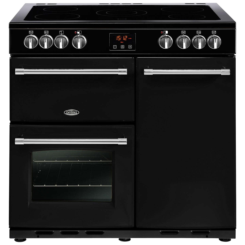 belling farmhouse 90e electric range cooker with ceramic hob at john rh johnlewis com Aga Oven Belling Appliances