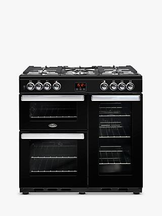 Belling Cookcentre 90DFT Dual Fuel Range Cooker