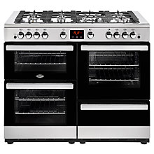 Buy Belling Cookcentre 110G Gas Range Cooker Online at johnlewis.com