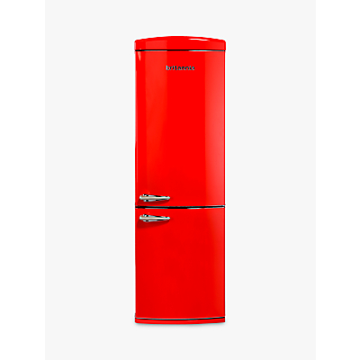 Britannia Breeze Retro Fridge Freezer, A+ Energy Rating, 60cm Wide