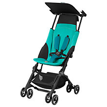 Buy GB Pockit+ Stroller, Capri Blue Online at johnlewis.com