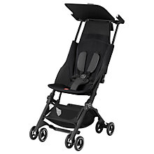 Buy GB Pockit+ Stroller, Monument Black Online at johnlewis.com