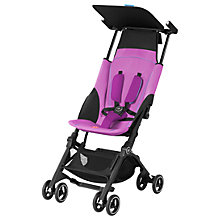 Buy GB Pockit+ Stroller, Posh Pink Online at johnlewis.com