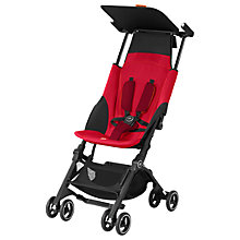 Buy GB Pockit+ Stroller, Dragon Fire Red Online at johnlewis.com