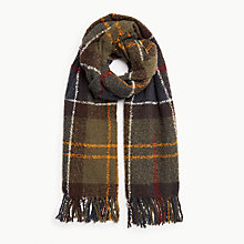 Buy Barbour Tartan Boucle Scarf Online at johnlewis.com