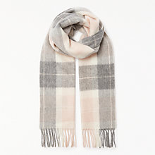 Buy Barbour Tartan Wool Scarf Online at johnlewis.com