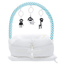 Buy Sleepyhead Baby Mobile Toy Arch, Aqua/White Online at johnlewis.com