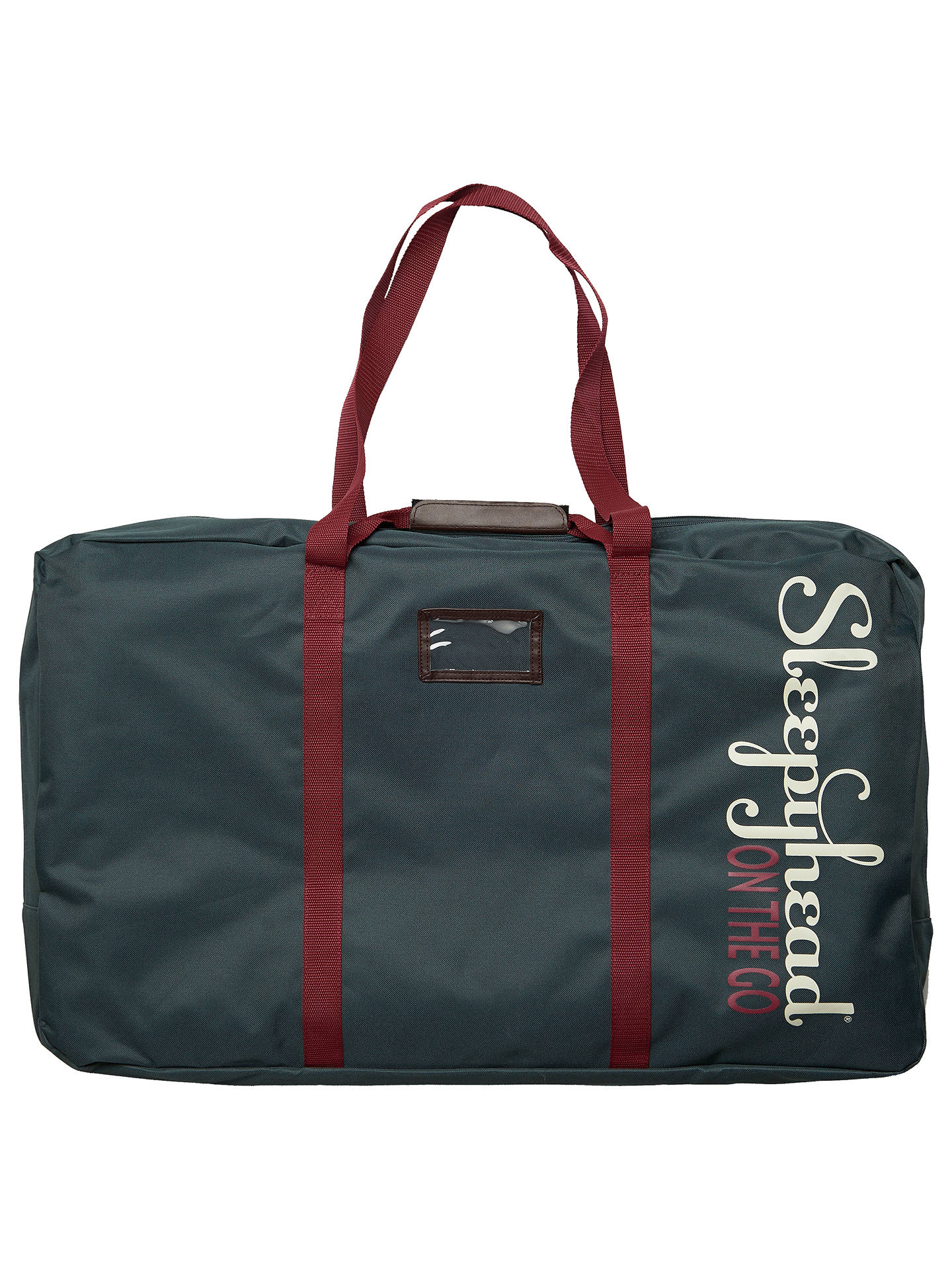 BuySleepyhead Deluxe+ Transport Bag, Teal Online at johnlewis.com