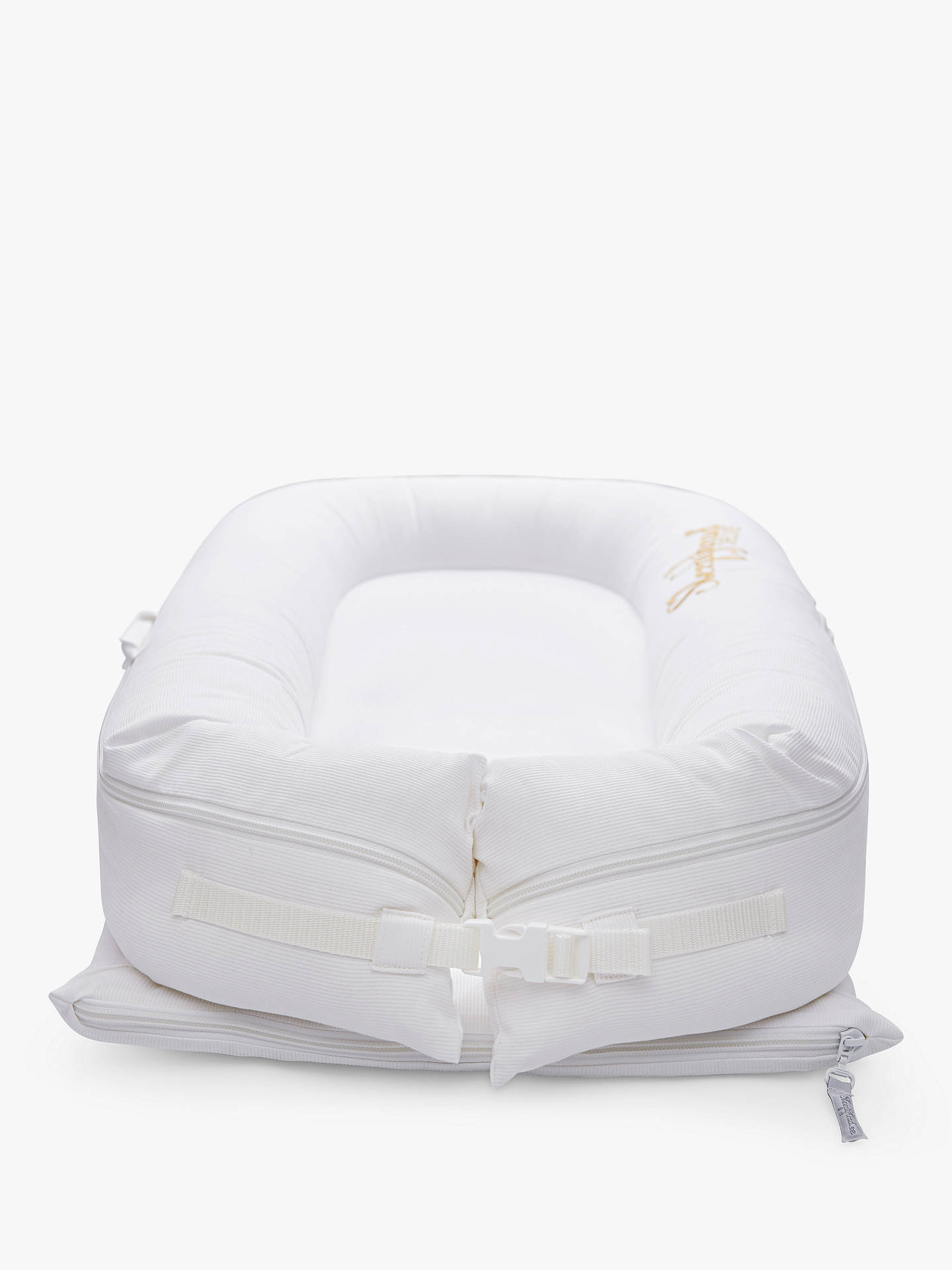 Buy Sleepyhead Deluxe+ Pristine White Baby Pod Cover, 0-8 months Online at johnlewis.com