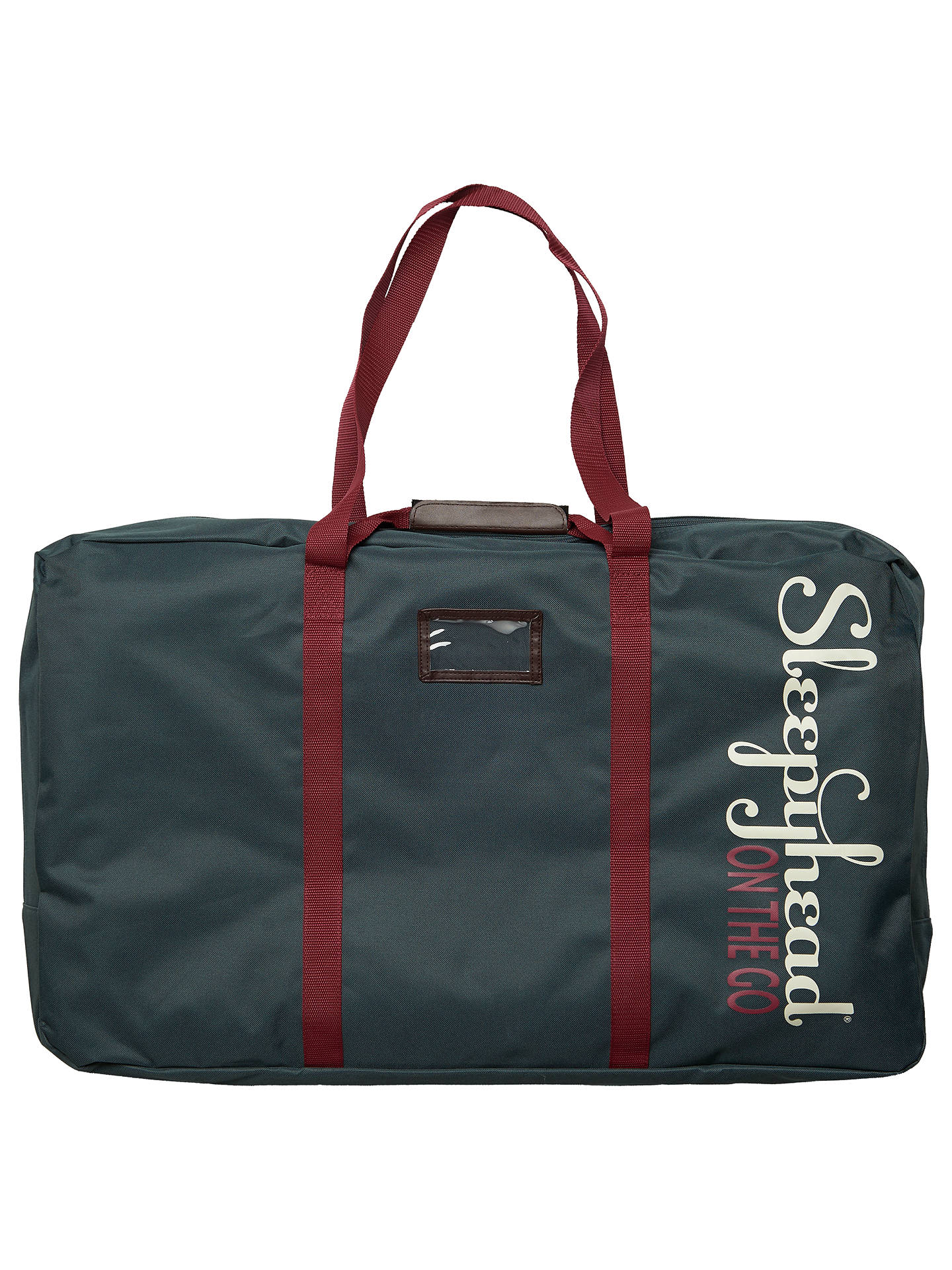 Buy Sleepyhead Grand Transport Bag, Teal Online at johnlewis.com