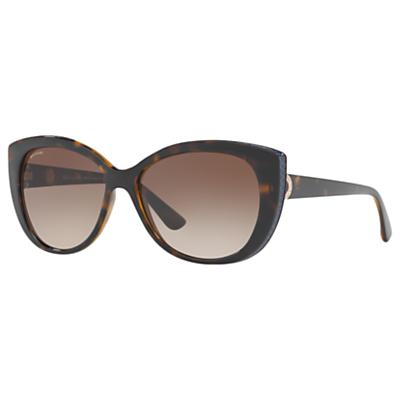 BVLGARI BV8169Q Cat's Eye Sunglasses