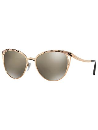 BVLGARI BV6083 Oval Sunglasses