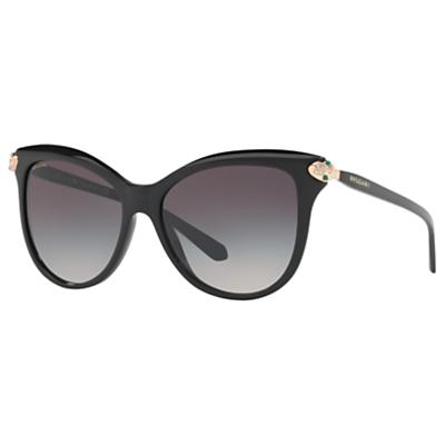 BVLGARI BV8188B Embellished Cat's Eye Sunglasses