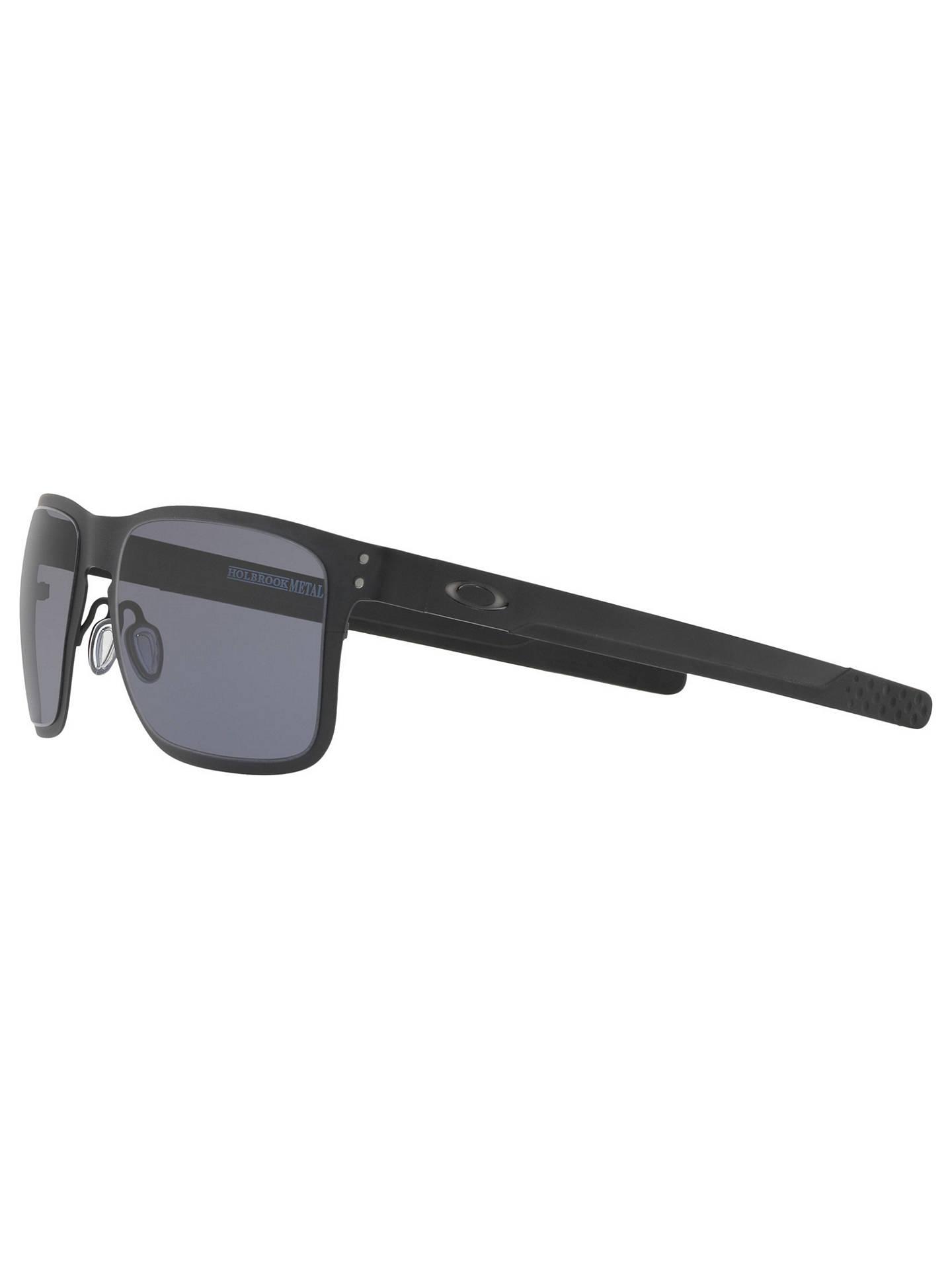 ea3ed9e7e0b Oakley OO4123 Men s Holbrook Metal Square Sunglasses at John Lewis ...