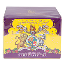 Buy Royal Collection Buckingham Palace English Breakfast Tea, 45g Online at johnlewis.com