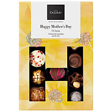 Buy Hotel Chocolat 'Happy Mother's Day' Hbox, Box of 14, 180g Online at johnlewis.com