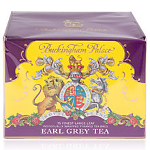 Buy Royal Collection Buckingham Palace Earl Grey Tea Bags, 22.5g Online at johnlewis.com