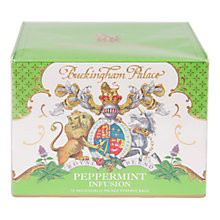 Buy Royal Collection Buckingham Palace Peppermint Infused Tea, 30g Online at johnlewis.com