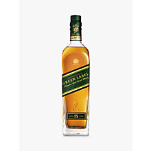 Buy Johnnie Walker Green Label Whisky, 70cl Online at johnlewis.com
