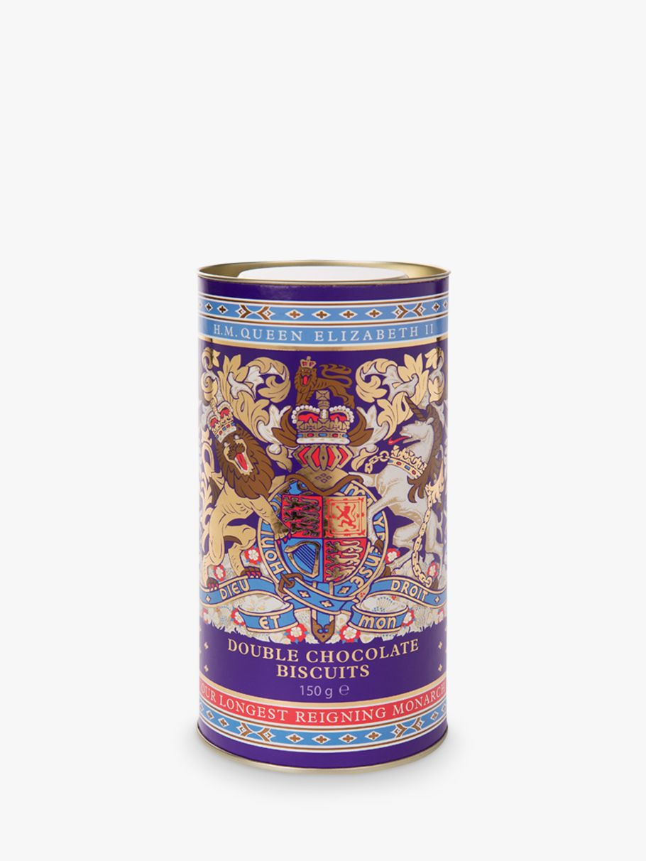 Royal Collection Royal Collection Longest Reigning Monarch Double Chocolate Biscuits & Tin, 150g