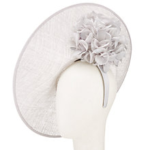 Buy John Lewis Petal Hydrangea Side Disc Occasion Hat Online at johnlewis.com