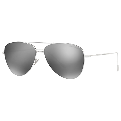 Image of Giorgio Armani AR6049 Frames of Life Aviator Sunglasses
