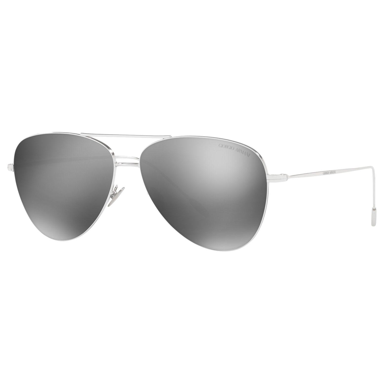 Giorgio Armani Giorgio Armani AR6049 Frames of Life Aviator Sunglasses