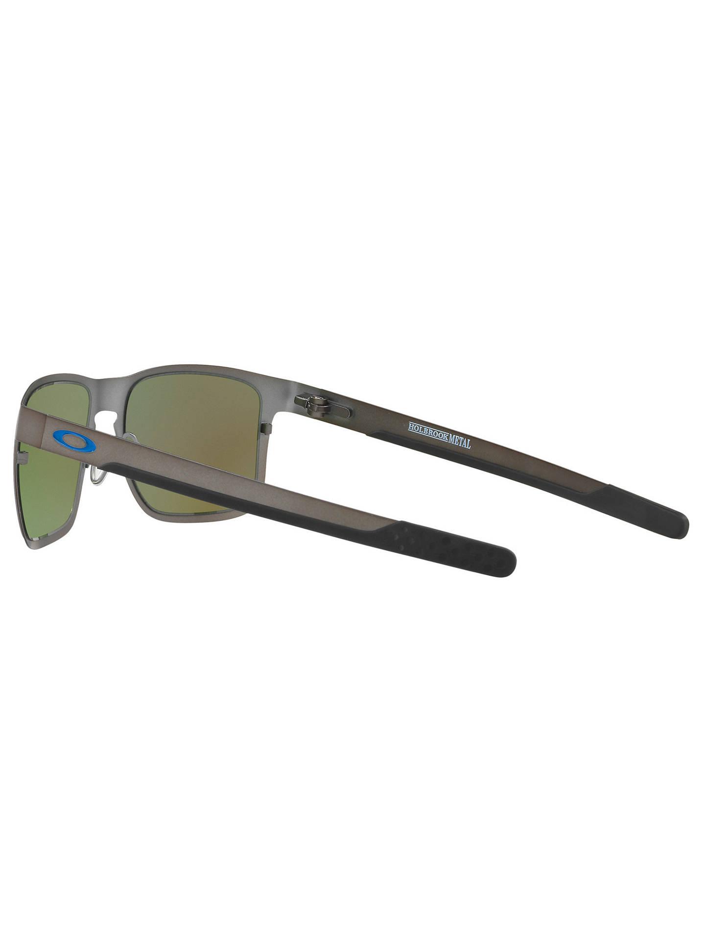 fe0907cf52 ... Buy Oakley OO4123 Men s Holbrook Prizm Polarised Metal Square Sunglasses
