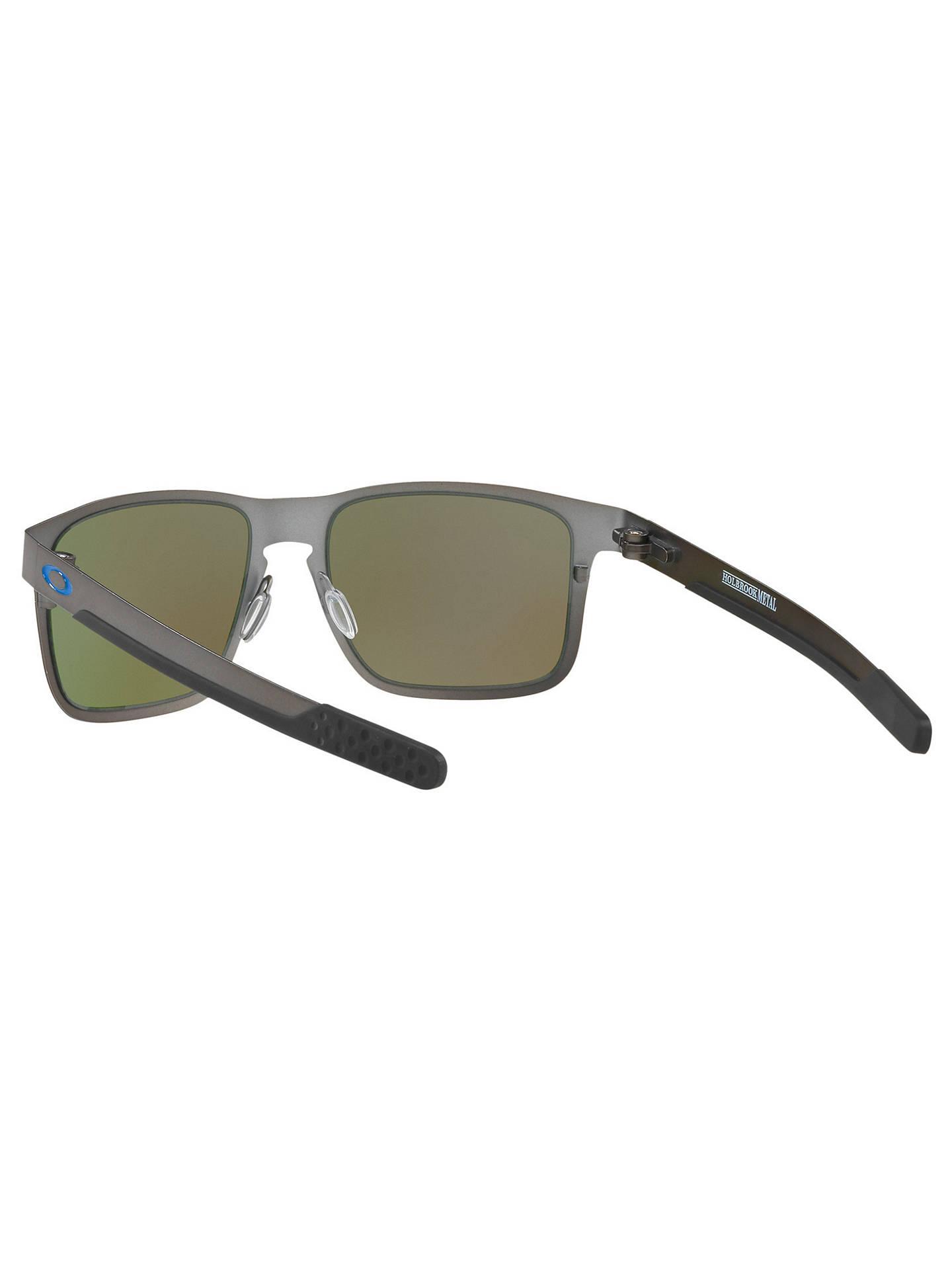 6484d1b717 ... BuyOakley OO4123 Men s Holbrook Prizm Polarised Metal Square Sunglasses