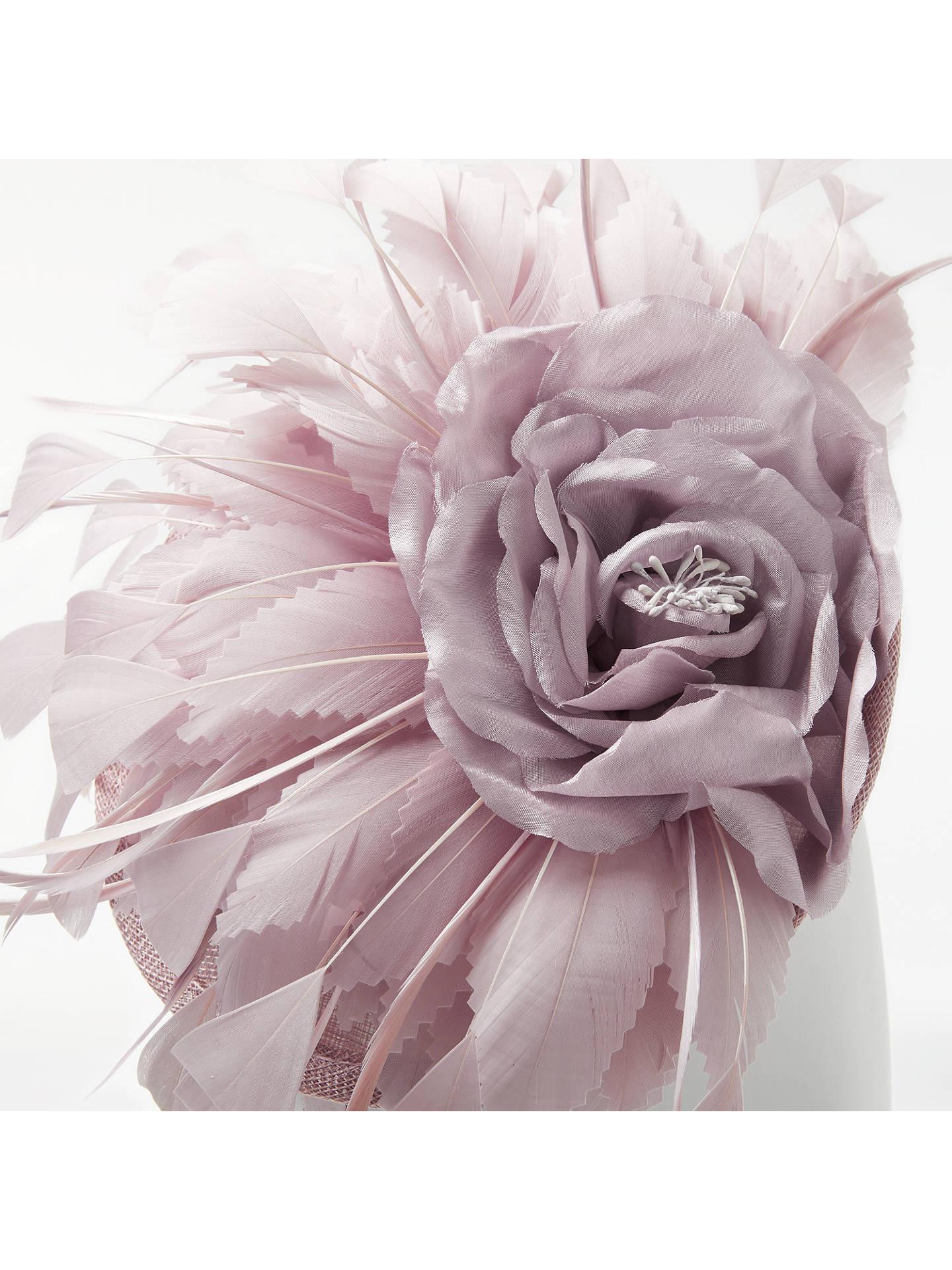 John lewis partners mary silk flower disc fascinator dusty pink buyjohn lewis partners mary silk flower disc fascinator dusty pink online at johnlewis mightylinksfo